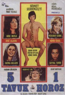 5 Tavuk 1 Horoz 1974 İzle